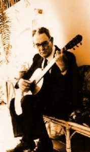 Antonio Lauro with Guitar